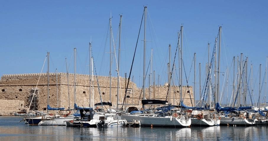 Marina of Heraklion