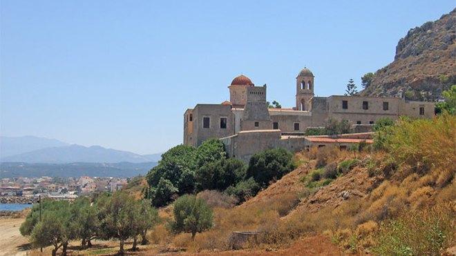 The monastery of Gonia (Panagia Odigitria)