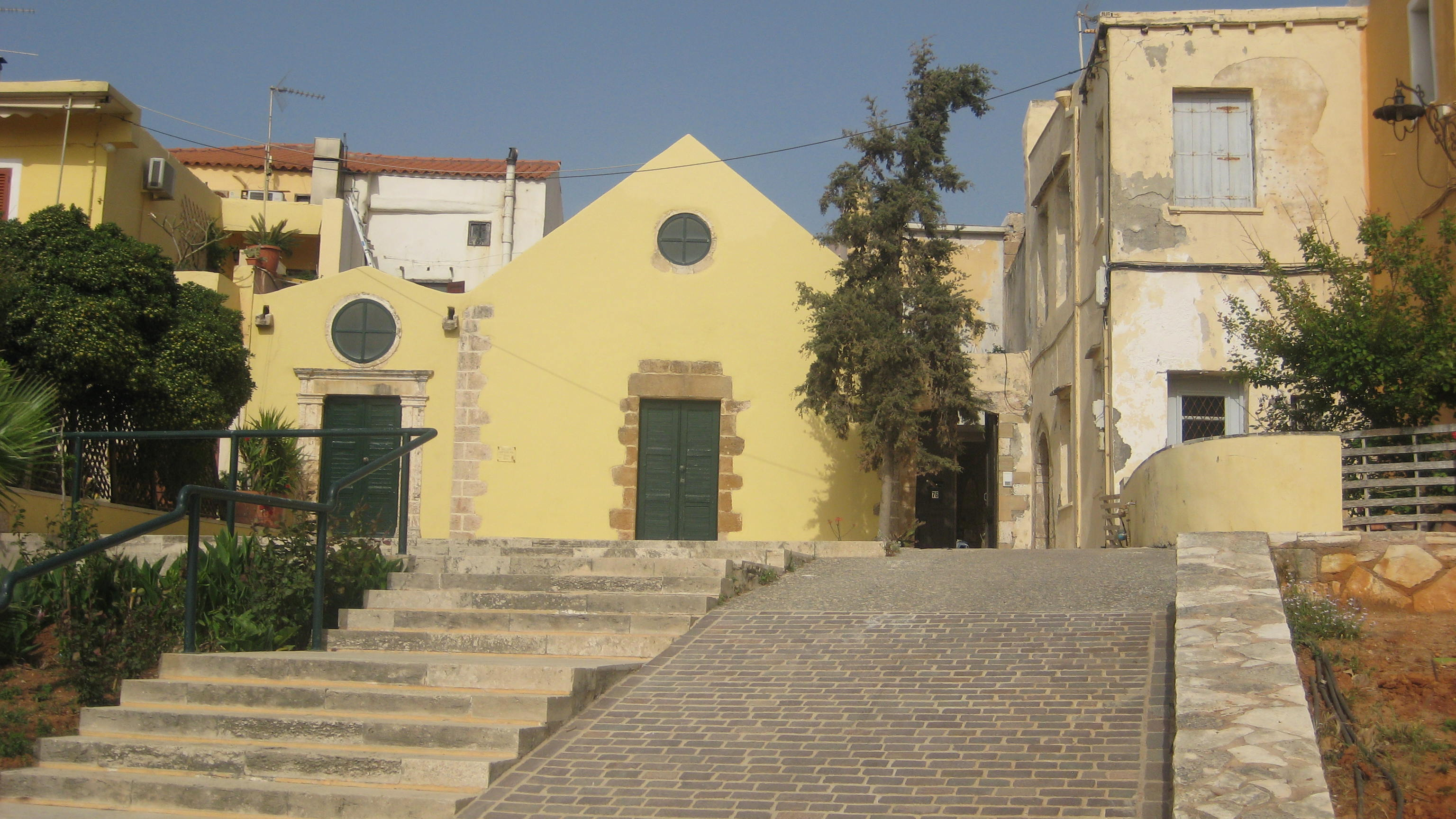 The Franciscan monastery of San Salvatore